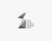 Five Days Design Award LOGO