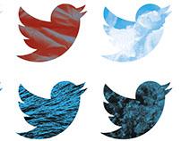 Twitter logo restyle