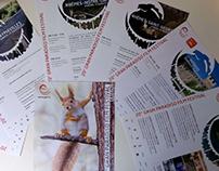Cartells i flyers promoció Gran Paradiso Film Festival