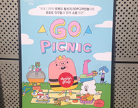 """""""Go picnic"""" Collaboration with DDP design shop"""