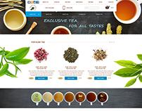 UI/UX Design E-commerce Tea store