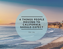 4 Things People Moving to California Should Expect