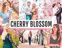 Free Cherry Blossom Mobile & Desktop Lightroom Presets