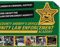 Flyer for Community Law Enforcement Academy