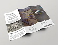 The Tabernacle project brochure design by StartTall