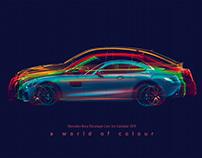 A World of Color /// Mercedes-Benz Cars Calendar 2019