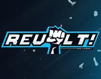 REVOLT! Pro Combat Brand Identity