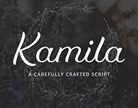 Kamila Webfont & Desktop Font
