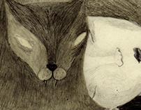 Cat people - fanzine - pencil