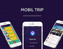 Mobil Trip IOS Application