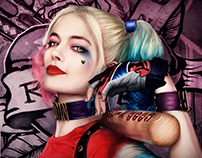 Harley Quinn - Suicide Squad - Fan Art