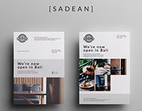 SADEAN - Restaurant Opening Flyer Template