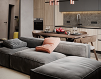 """Apartment in Moscow ZHK """"Normandy"""""""