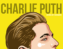 Charlie Puth Illustration
