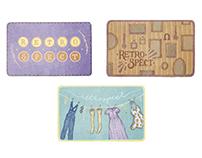 Gift Card Design: Retrospect Vintage