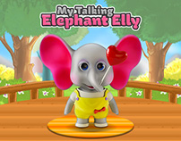 My Talking Elephant Elly - Virtual Pet Game