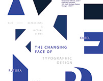 The Changing face of Typographic design.