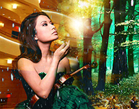 Sarah Chang Collage Photoshop