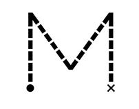 Na szlaku. Muzea a turystyka. /projekt logotypu/