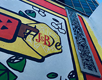 The J&B Hive Wall