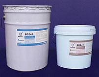 Wear resistant ceramic adhesives