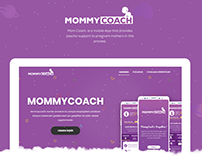 MommyCoach Web UI Design