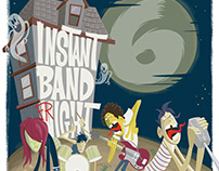 Instant Band Night AR Poster