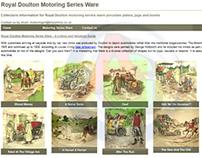 Royal Doulton Motoring Series Ware