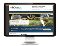 BikeToursDirect.com - 2011 Website Redesign
