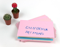 California Dreaming Zine - Screen Printing