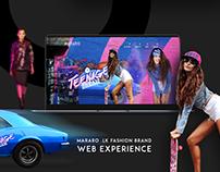 Mararo- Web Experience. Fashion Brand