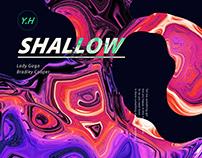 POSTER DESIGN | Visual-shallow-Lady Gaga | 海報視覺設計