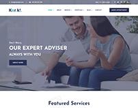KorKi - Tax & Finance Bootstrap 4 Template