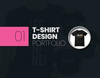T-shirt Design Portfolio 01