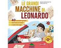 """""""Le grandi macchine di Leonardo""""_Editoriale Scienza"""