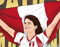 Paola Mautino - Campeona Sudamericana de salto largo.