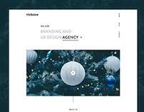Studio Landing Page Concept Exploration