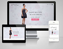The Fashion Rack- Online store branding