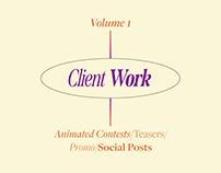 Client Work - Volume 1