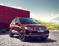 vw touareg executive edition CGI