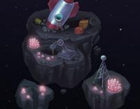 Cosmic Game Art Location