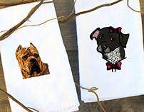 Dogs Embroidery Designs