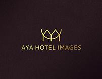AYA HOTEL IMAGES logo design