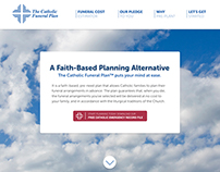 Catholic Funeral Plan Responsive Site