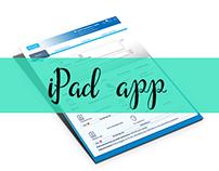 Insurance company-tablet app