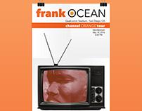 Frank Ocean Concert Posters