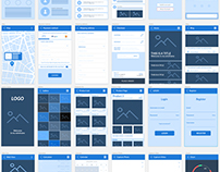 Sketch Wireframe Kit Mobile Free