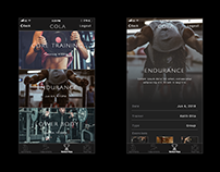 Cola Workout App Prototype