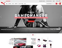 Puma Magazine Blog UI - Case Study
