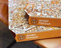 Illustrations for DODO Pizza